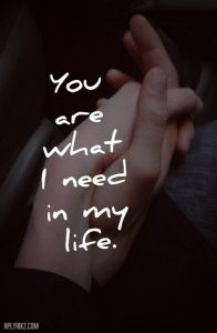 you are!