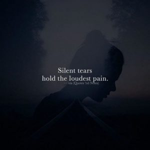 silense tears