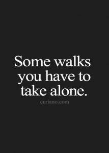 alone way