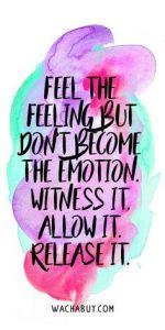 feel emotions